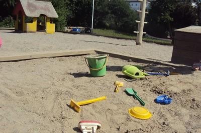 förskolans sandlåda